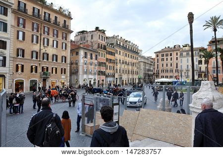 Piazza Di Spagna, Rome Italy