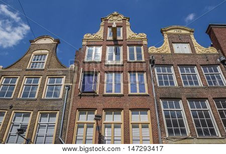 Decorated Facades In The Historical Center Of Zwolle
