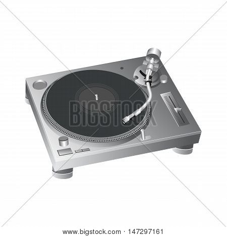 Turntable DJ Style Icon vector for use 2