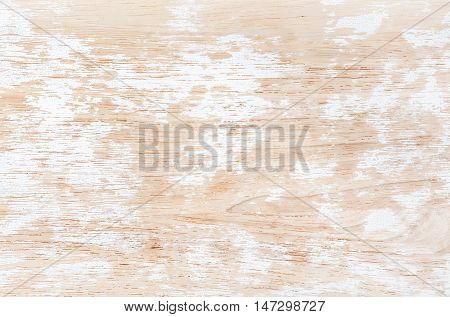 Old white painted shabby wooden texture, wallpaper and background