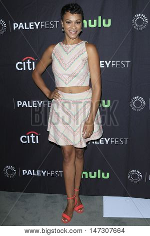 LOS ANGELES - SEP 10:  Carly Hughes at the PaleyFest 2016 Fall TV Preview - ABC at the Paley Center For Media on September 10, 2016 in Beverly Hills, CA