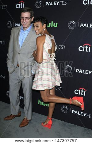 LOS ANGELES - SEP 10:  Kenny Schwartz, Carly Hughes at the PaleyFest 2016 Fall TV Preview - ABC at the Paley Center For Media on September 10, 2016 in Beverly Hills, CA