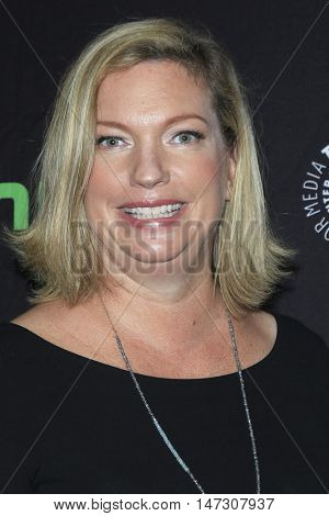 LOS ANGELES - SEP 10:  Sarah Dunn at the PaleyFest 2016 Fall TV Preview - ABC at the Paley Center For Media on September 10, 2016 in Beverly Hills, CA