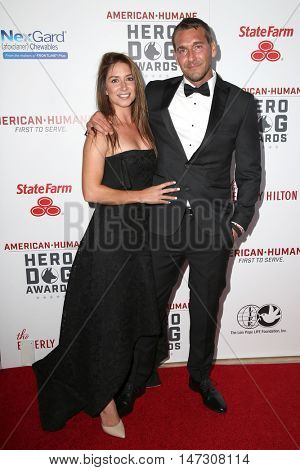 LOS ANGELES - SEP 10:  Guest, Brandon McMillan at the 2016 American Humane Hero Dog Awards at the Beverly Hilton Hotel on September 10, 2016 in Beverly Hills, CA