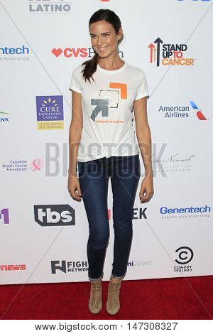 LOS ANGELES - SEP 9:  Odette Annable at the 5th Biennial Stand Up To Cancer at the Walt Disney Concert Hall on September 9, 2016 in Los Angeles, CA