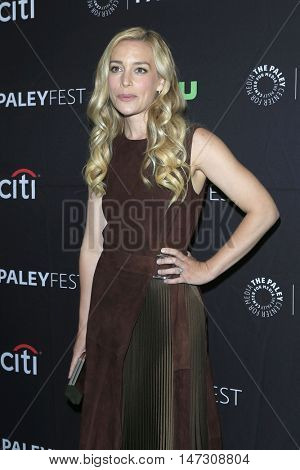 LOS ANGELES - SEP 10:  Piper Perabo at the PaleyFest 2016 Fall TV Preview - ABC at the Paley Center For Media on September 10, 2016 in Beverly Hills, CA