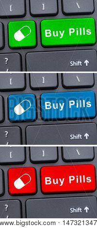 Online Medical Treatment Concept