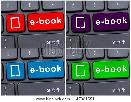 E-book Download As Education Concept