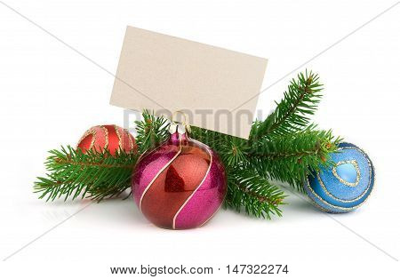 Christmas Decoration And Greeting Card