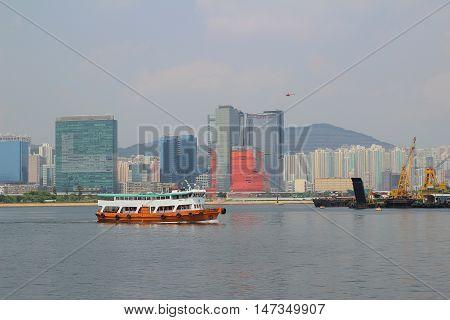 the Kowloon city view Kowloon Bay at 2014