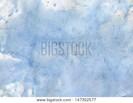 Watercolor Green background. Hand drawing watercolor. Abstract watercolor background.Watercolor background. Blue watercolor background