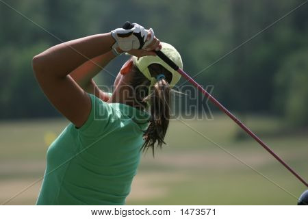 Lady Golf Swings