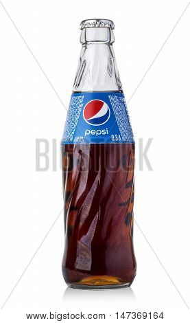 Photo Of Pepsi Glass Bottle