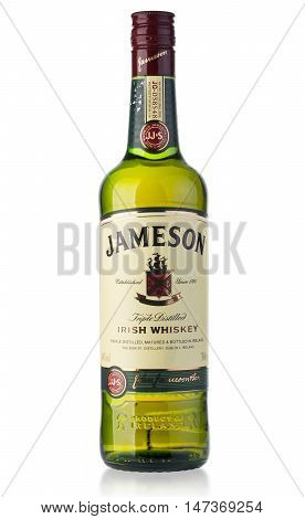 Jameson Whiskey Isolated On White