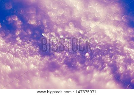 beautiful blue frost pattern for the background
