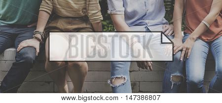 Friends Togetherness Lifestyle Happiness Concept