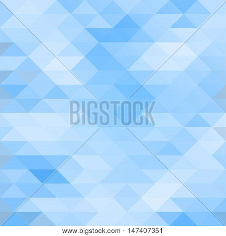 Mosaic triangle background 2d abstract ice crystal vector illustration eps 10