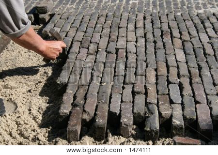 Brick Road Repair