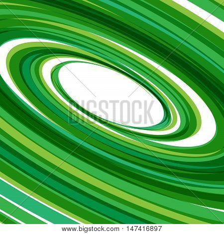 Vector Green Rings Background, orbits in circle