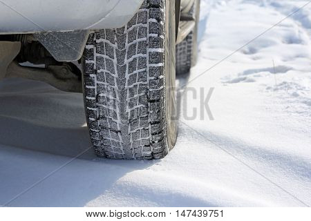The Winter tyres in extreme cold temperature