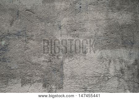 Ruined concrete wall background texture