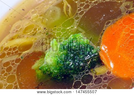 Soup With Broccoli