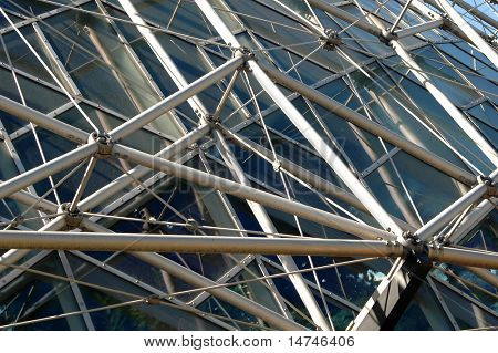 External view of geodesic Structure.