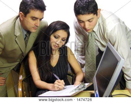 Trio Business Team