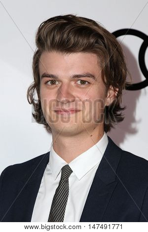 LOS ANGELES - SEP 15:  Joe Keery at the Audi Celebrates The 68th Emmys at the Catch on September 15, 2016 in West Hollywood, CA