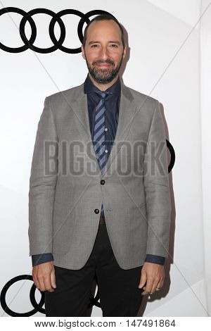 LOS ANGELES - SEP 15:  Tony Hale at the Audi Celebrates The 68th Emmys at the Catch on September 15, 2016 in West Hollywood, CA