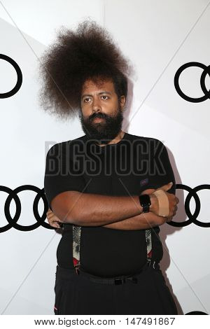 LOS ANGELES - SEP 15:  Reggie Watts at the Audi Celebrates The 68th Emmys at the Catch on September 15, 2016 in West Hollywood, CA