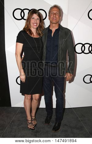 LOS ANGELES - SEP 15:  Mandy Fabian, Patrick Fabian at the Audi Celebrates The 68th Emmys at the Catch on September 15, 2016 in West Hollywood, CA
