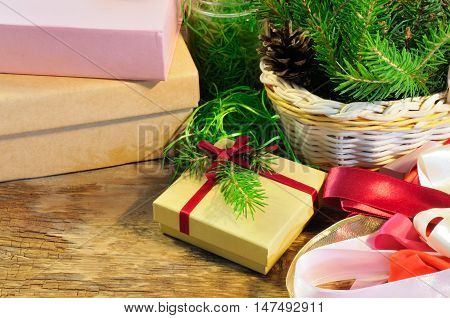 Christmas Gift Box And Package Items