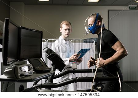 Performing A Treadmill Test