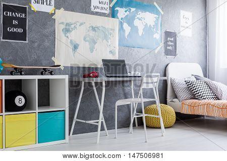 Living In Soft Colour Interior