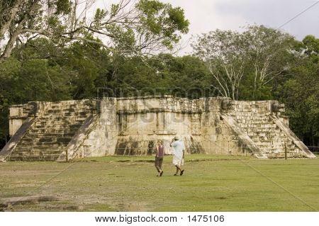Maya Sacrifice Temple