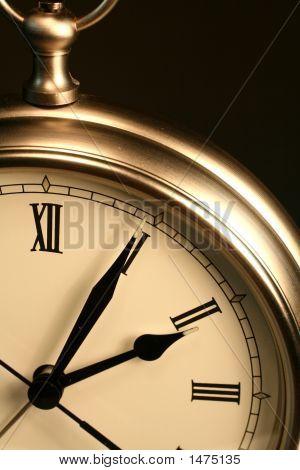 Sepia Time Clock