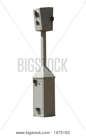 Isolated Traffic Camera