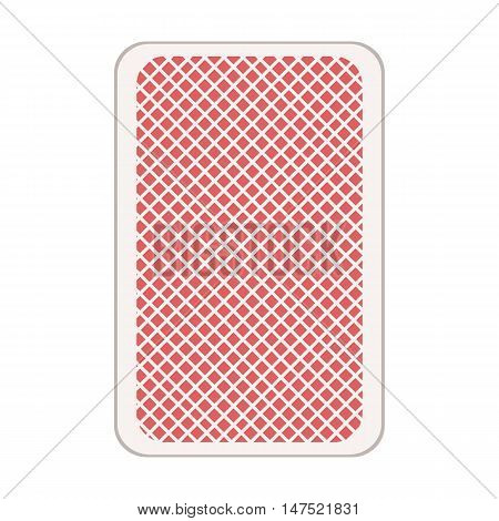 Vector Single Backdrop Of Playing Card