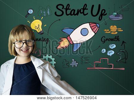 Start up Innovation Bulb Creative Concept