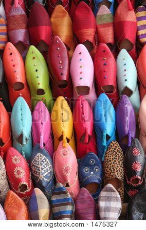 Colorful Arabic Shoes