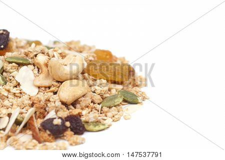 granola and multi grains / healthy meal