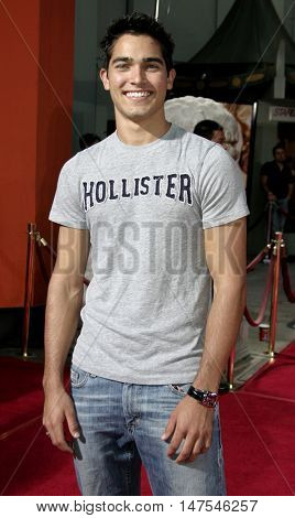 Tyler Hoechlin at the Los Angeles premiere of 'Just Like Heaven' held at the Grauman's Chinese Theatre Hollywood, USA on September 8, 2005.