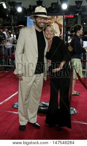 Micky Dolenz and Donna Quinter at the Los Angeles premiere of 'Just Like Heaven' held at the Grauman's Chinese Theatre Hollywood, USA on September 8, 2005.