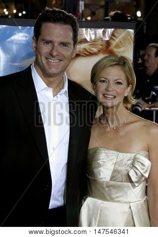 Mark Waters and Dina Spybey at the Los Angeles premiere of 'Just Like Heaven' held at the Grauman's Chinese Theatre Hollywood, USA on September 8, 2005.