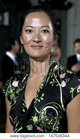 Rosalind Chao at the Los Angeles premiere of 'Just Like Heaven' held at the Grauman's Chinese Theatre Hollywood, USA on September 8, 2005.