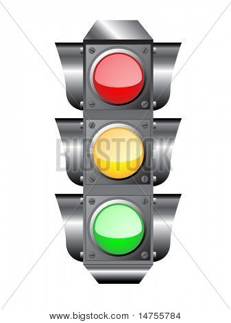 traffic light or semaphore