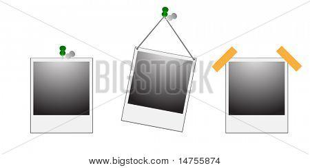 empty  instant photo picture