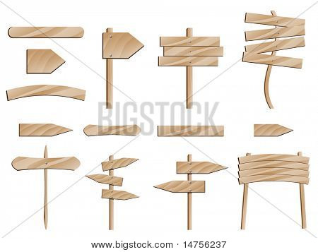 roar wooden signs
