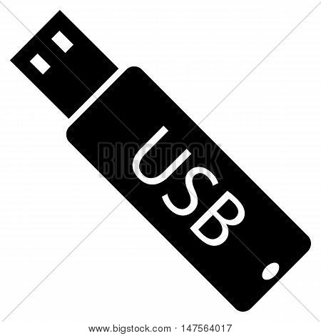 usb icon stick vector network isolated equipment